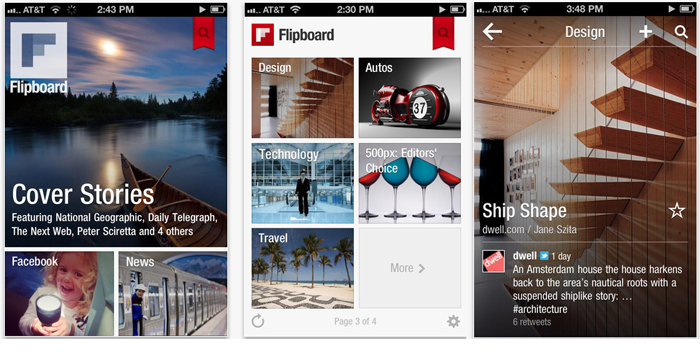 Flipboard (Best Free Apps)