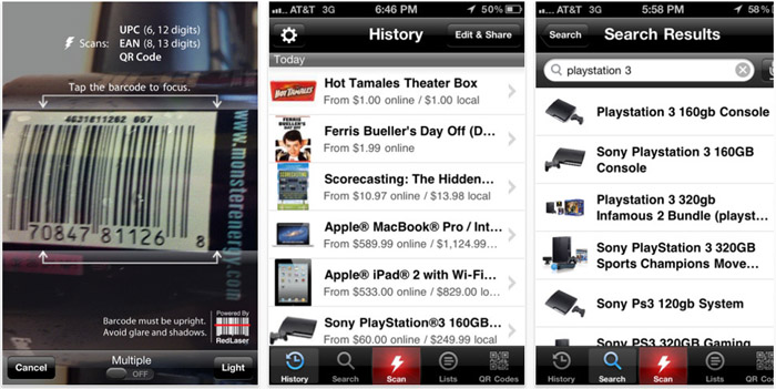 RedLaser (Best Free Apps)