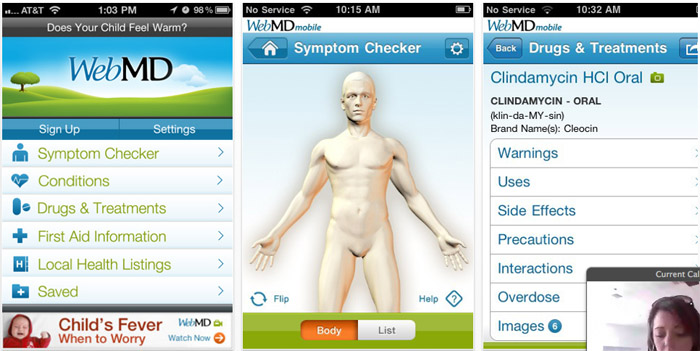 WebMD (Best Free Apps)